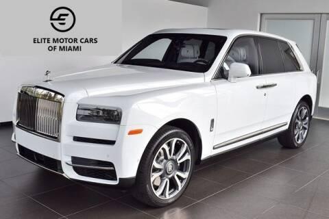 2020 Rolls-Royce Cullinan for sale at AE Of Miami in Miami FL
