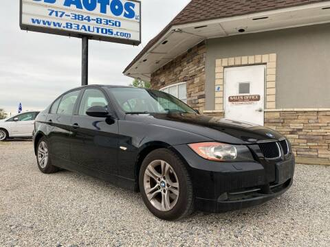2008 BMW 3 Series for sale at 83 Autos in York PA