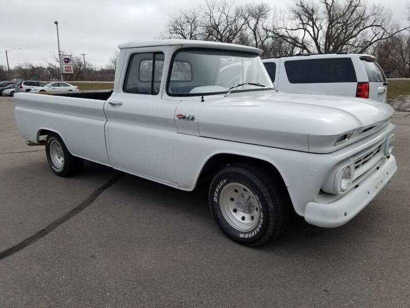 1962 Chevrolet C/K 10 Series for sale at Pro Auto Sales and Service in Ortonville MN