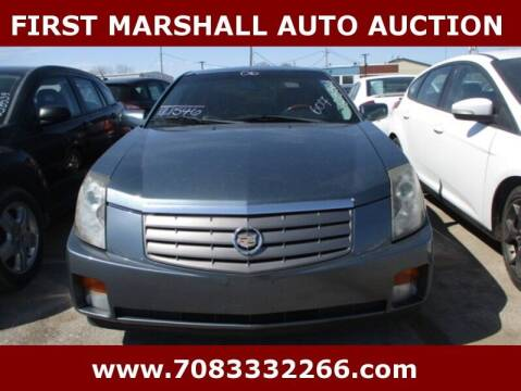 2006 Cadillac CTS for sale at First Marshall Auto Auction in Harvey IL
