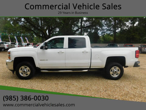 2015 Chevrolet Silverado 2500HD for sale at Commercial Vehicle Sales in Ponchatoula LA