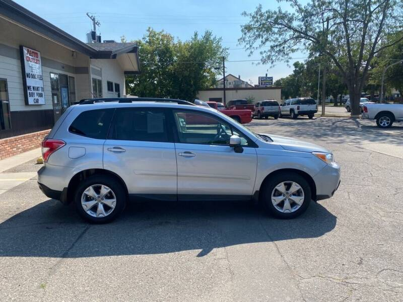 2015 Subaru Forester for sale at Auto Outlet in Billings MT