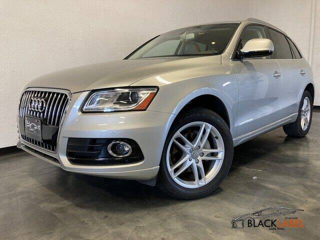 2017 Audi Q5 for sale at BLACK LABEL AUTO FIRM in Riverside CA