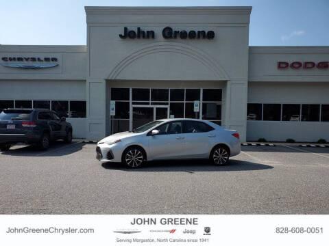 2018 Toyota Corolla for sale at John Greene Chrysler Dodge Jeep Ram in Morganton NC