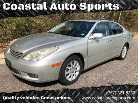 2004 Lexus ES 330 for sale at Coastal Auto Sports in Chesapeake VA