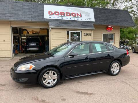 2011 Chevrolet Impala for sale at Gordon Auto Sales LLC in Sioux City IA