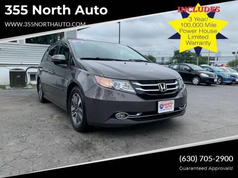 2014 Honda Odyssey for sale at 355 North Auto in Lombard IL