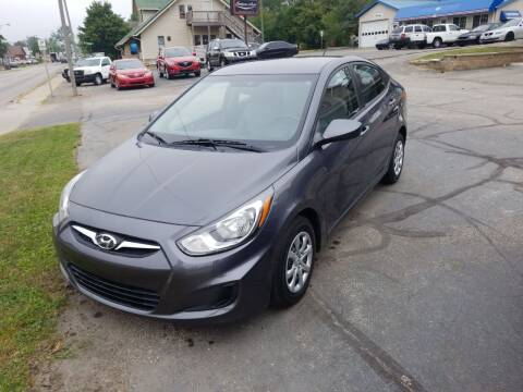2013 Hyundai Accent for sale at Indiana Auto Sales Inc in Bloomington IN