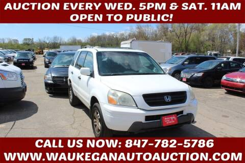 2004 Honda Pilot for sale at Waukegan Auto Auction in Waukegan IL