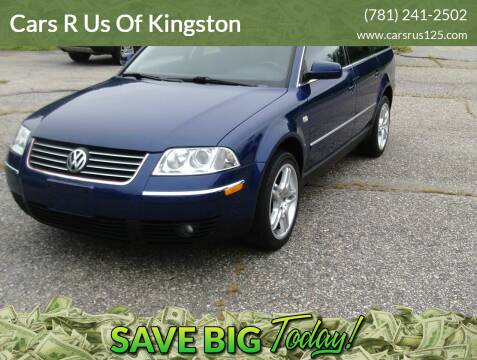 2002 Volkswagen Passat for sale at Cars R Us Of Kingston in Kingston NH