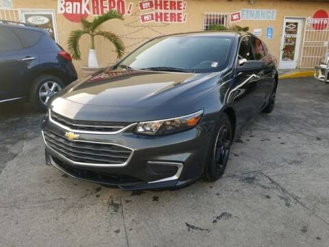 2017 Chevrolet Malibu for sale at VALDO AUTO SALES in Miami FL
