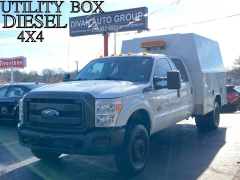 2011 Ford F-350 Super Duty for sale at Divan Auto Group in Feasterville PA