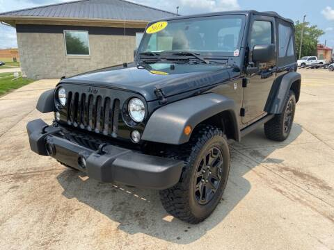 2018 Jeep Wrangler JK for sale at Auto House of Bloomington in Bloomington IL