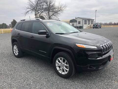 2016 Jeep Cherokee for sale at RAYMOND TAYLOR AUTO SALES in Fort Gibson OK