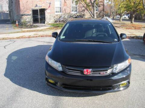 2012 Honda Civic for sale at EBN Auto Sales in Lowell MA