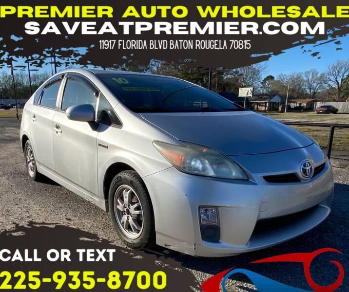 2010 Toyota Prius for sale at Premier Auto Wholesale in Baton Rouge LA