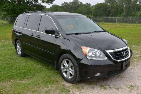 2010 Honda Odyssey for sale at WOODLAKE MOTORS in Conroe TX