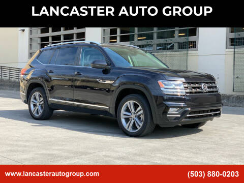 2018 Volkswagen Atlas for sale at LANCASTER AUTO GROUP in Portland OR