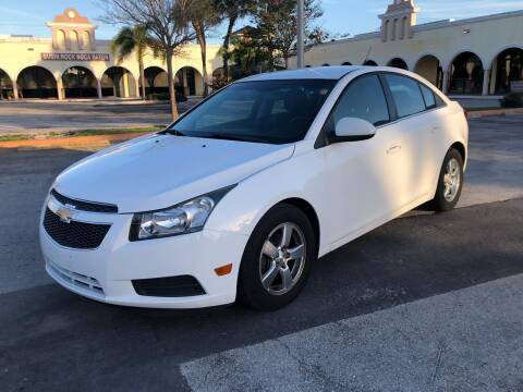 2012 Chevrolet Cruze for sale at GERMANY TECH in Boca Raton FL