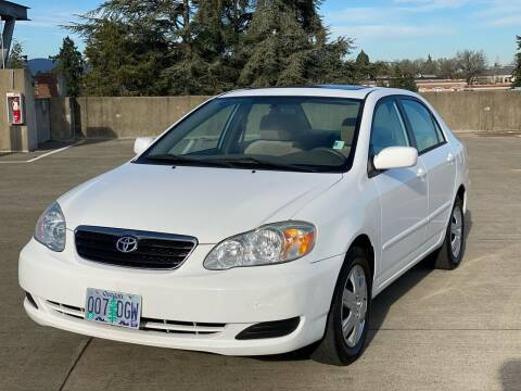 2006 Toyota Corolla for sale at Rave Auto Sales in Corvallis OR