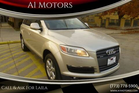 2007 Audi Q7 for sale at A1 Motors Inc in Chicago IL