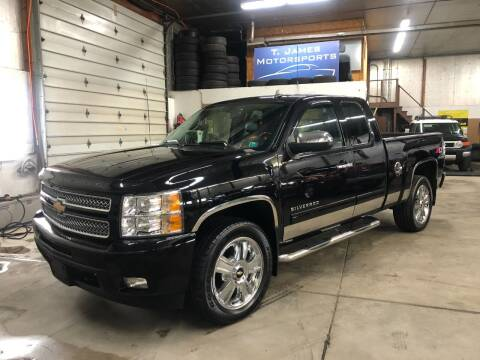 2013 Chevrolet Silverado 1500 for sale at T James Motorsports in Gibsonia PA