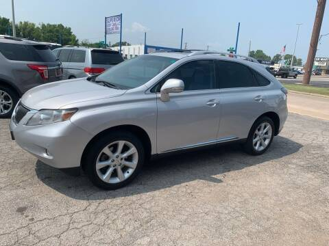 2012 Lexus RX 350 for sale at Superior Used Cars LLC in Claremore OK