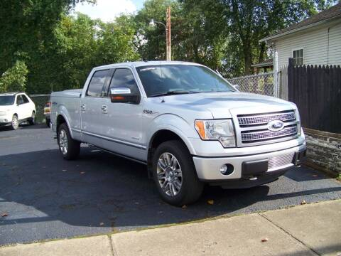 2012 Ford F-150 for sale at Collector Car Co in Zanesville OH