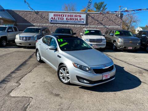 2013 Kia Optima for sale at Brothers Auto Group in Youngstown OH