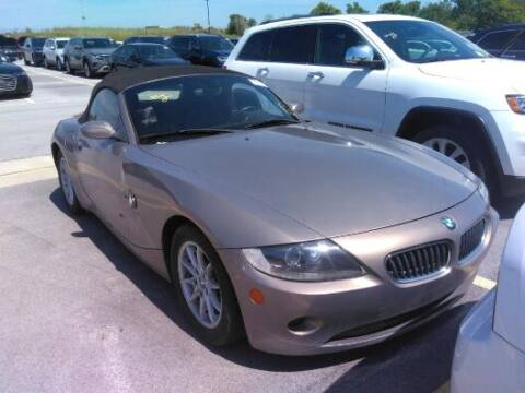 2005 BMW Z4 for sale at NORTH CHICAGO MOTORS INC in North Chicago IL