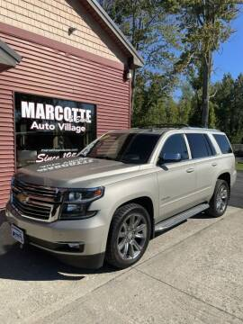 2015 Chevrolet Tahoe for sale at Marcotte & Sons Auto Village in North Ferrisburgh VT
