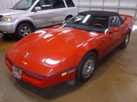 1987 Chevrolet Corvette for sale at East Coast Auto Source Inc. in Bedford VA