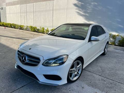 2014 Mercedes-Benz E-Class for sale at Auto Beast in Fort Lauderdale FL