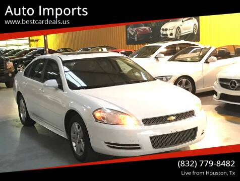 2014 Chevrolet Impala Limited for sale at Auto Imports in Houston TX