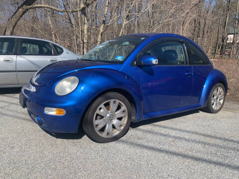 2003 Volkswagen New Beetle for sale at LONGWOOD MOTORS in Stockholm NJ