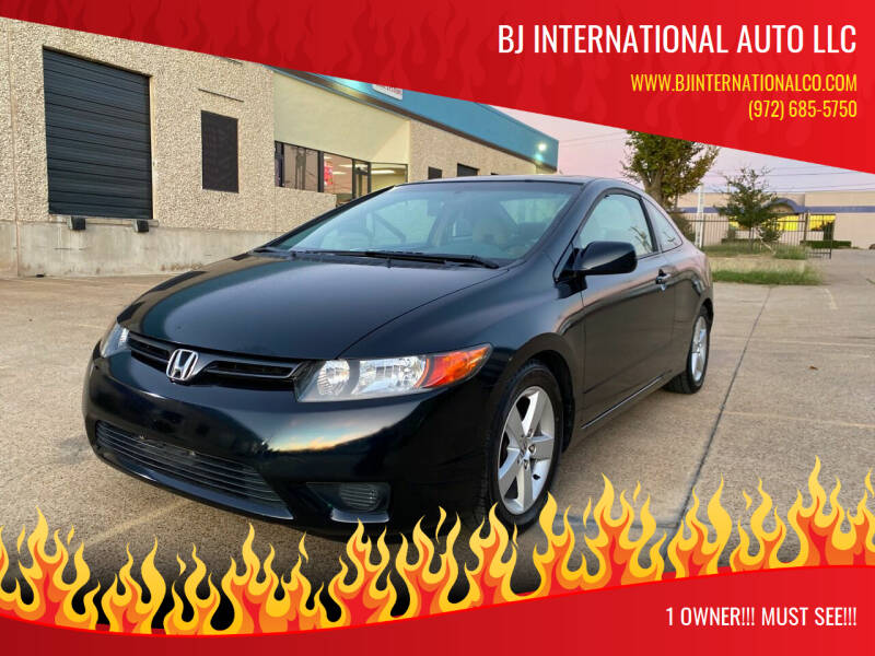 2006 Honda Civic for sale at BJ International Auto LLC in Dallas TX