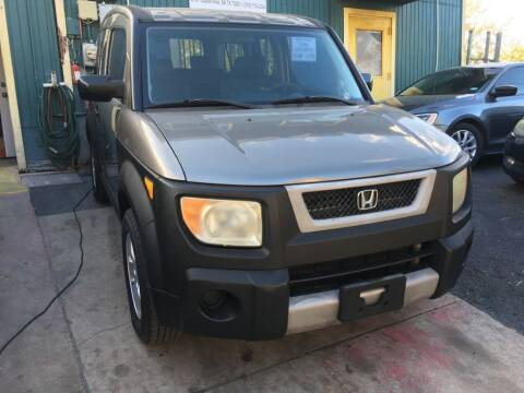 2005 Honda Element for sale at Carzready in San Antonio TX