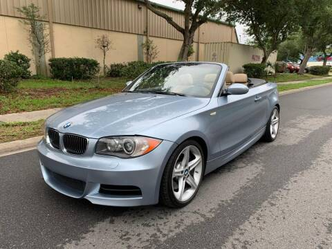 2008 BMW 1 Series for sale at Presidents Cars LLC in Orlando FL