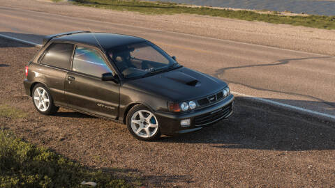1995 Toyota Starlet for sale at AC MOTORCARS LLC in Houston TX