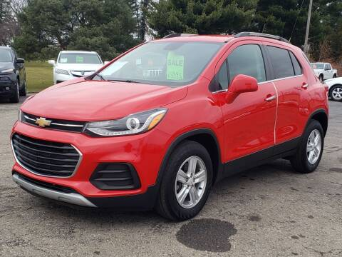 2017 Chevrolet Trax for sale at Thompson Motors in Lapeer MI