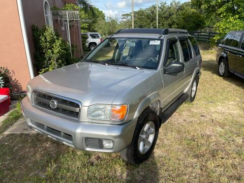 2003 Nissan Pathfinder for sale at Louie's Auto Sales in Leesburg FL