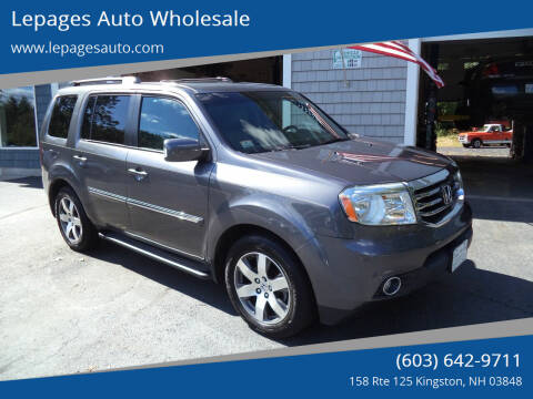 2015 Honda Pilot for sale at Lepages Auto Wholesale in Kingston NH