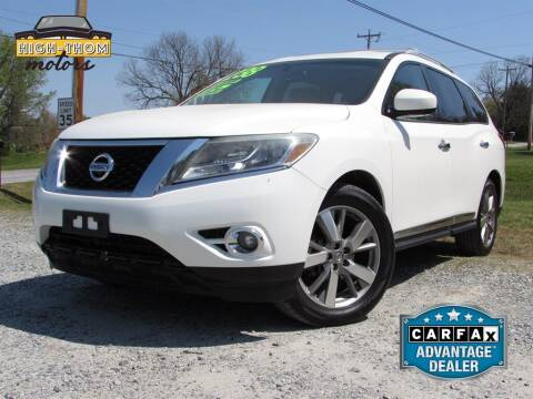 2013 Nissan Pathfinder for sale at High-Thom Motors in Thomasville NC