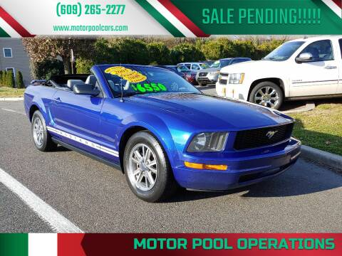 2005 Ford Mustang for sale at Motor Pool Operations in Hainesport NJ