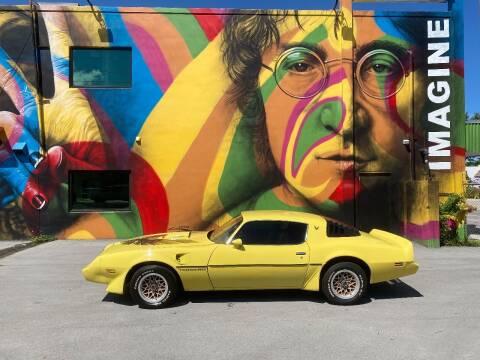1979 Pontiac Trans Am for sale at BIG BOY DIESELS in Ft Lauderdale FL