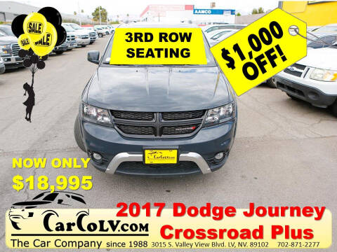 2017 Dodge Journey for sale at The Car Company in Las Vegas NV