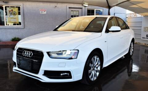 2015 Audi A4 for sale at 1st Class Motors in Phoenix AZ