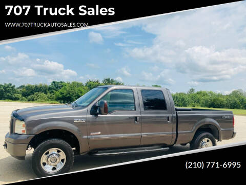 2006 Ford F-250 Super Duty for sale at 707 Truck Sales in San Antonio TX
