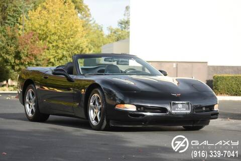 2000 Chevrolet Corvette for sale at Galaxy Autosport in Sacramento CA