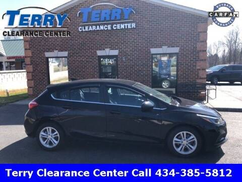 2017 Chevrolet Cruze for sale at Terry Clearance Center in Lynchburg VA